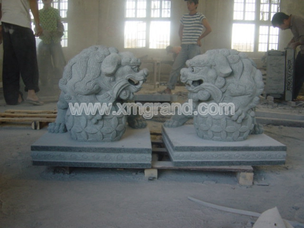 Granite Animal Carving 6