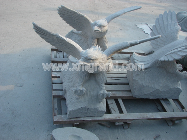Granite Animal Carving 10