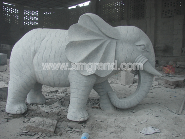 Granite Animal Carving 8