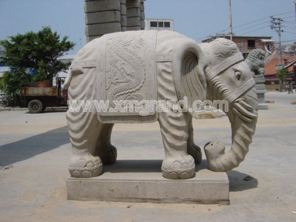 Granite Animal Carving 5