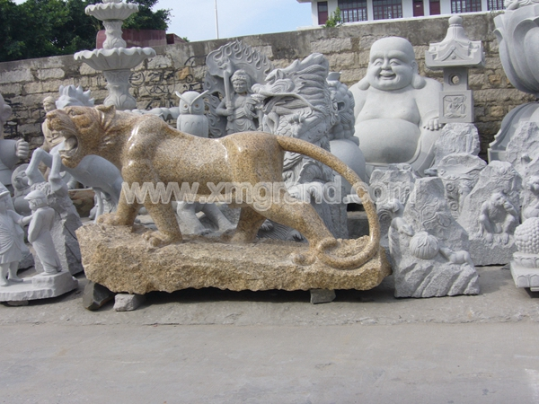 Granite Animal Carving 9